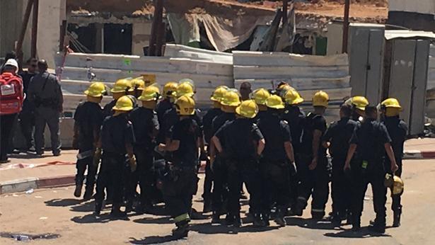 צוותי הצלה, צילום: ענת דניאלי