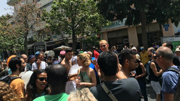 """מסיבת רחוב, צילום: יח""""צ"""
