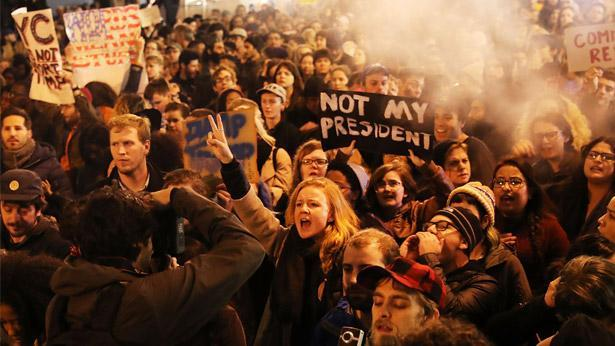 מוחים נגד טראמפ, צילום: גטי אימג'ס ישראל