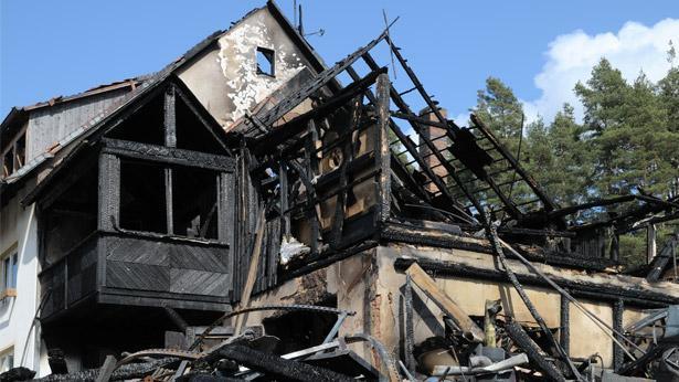 נזק משריפה, צילום: גטי אימג'ס ישראל