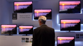 מסכי טלויזיה, צילום: גטי אימג'ס