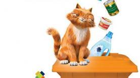 """""""דדי החתול"""" בקמפיין של תאגיד המחזור תמיר, צילום: יח""""צ"""
