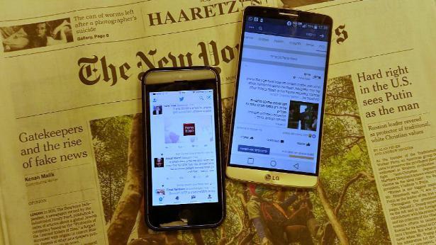 מחקר של זניט: פרסום בסושיאל יעבור את הפרינט ב-2020
