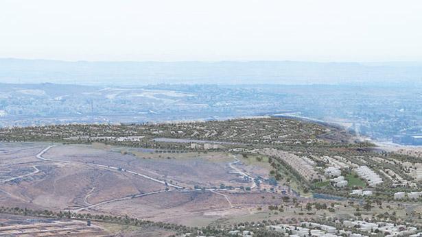 רובע מנחם, באר שבע, צילום: רשות מקרקעי ישראל