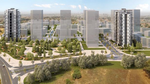 """אזורים, """"דירה להשכיר ברקפות"""", צילום: 3Ddesign"""