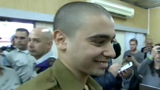 אלאור אזריה לפני הכרעת הדין, צילום: באדיבות חדשות 10