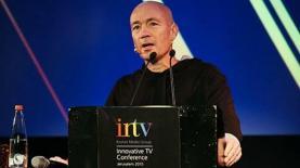 """מנכ """"ל קשת אבי ניר בכנס INTV של 2015, צילום: יח""""צ קשת"""
