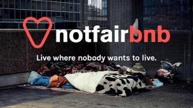 """airbnb הומלסים, צילום: יח""""צ"""