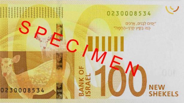 שטר לדוגמה, צילום: בנק ישראל