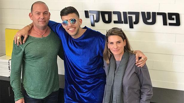 בן אל תבורי, שרון וסוזי פרשקובסקי, צילום: ארנה פרי יחסי ציבור