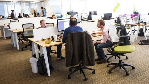 חלל עבודה משותף, צילום: GettyImages IL