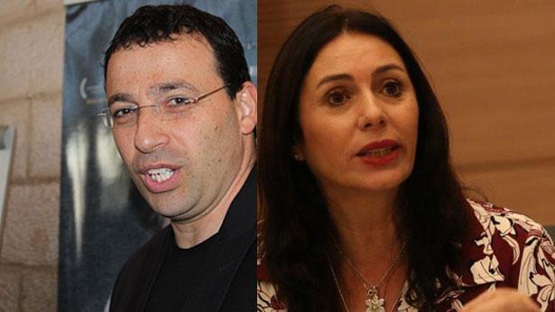 מירי רגב ורביב דרוקר, צילום: דוברות הכנסת, BizTV