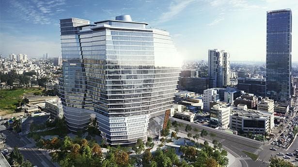 מתחם העסקים ToHa, צילום: Viewpoint