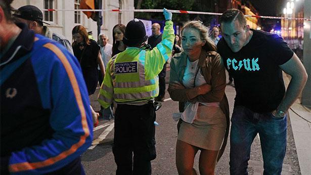 הפיגוע בלונדון, צילום: GettyImages IL
