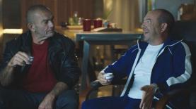 אייל ברקוביץ' עם יורם בינור בקמפיין לקפה נחלה
