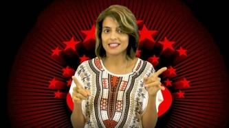 עדי ברזילי במצעד הפרסומות של אייס, צילום: אייס TV