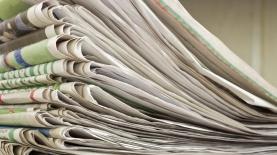 ערימת עיתונים, צילום: Istock