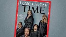 """""""איש השנה"""" של מגזין TIME: נשות קמפיין MeToo#, צילום: שער מגזין TIME"""