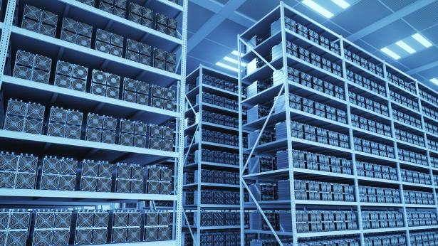 חווה לכריית מטבעות דיגיטליים, צילום: Istock