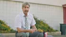 דייויד שווימר בפרסומת סקיטלס לסופרבול, צילום: צילום מסך
