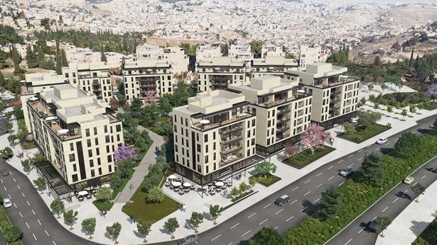 הדמיה פרויקט אלנבי בירושלים, צילום: מילבאואר אדריכלים'