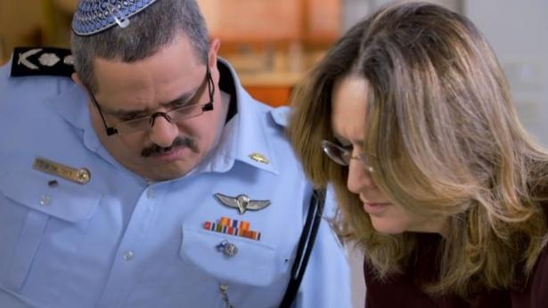 אילנה דיין ורוני אלשיך עובדה, צילום מסך מאקו