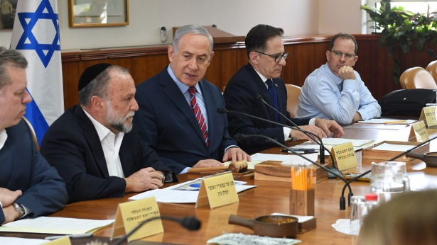 ישיבת ממשלה, צילום: קובי גדעון