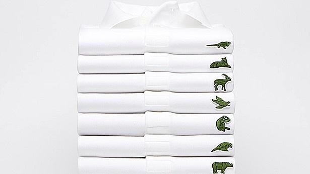 לאקוסט מחליפה את הקרוקודיל מהחולצה בחיות נכחדות