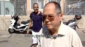קריאות הבוגד נגד אמנון אברמוביץ' במהלך משפט אלאור אזריה, צילום: חדשות 2