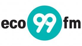 """לוגו eco99fm, צילום: יח""""צ"""