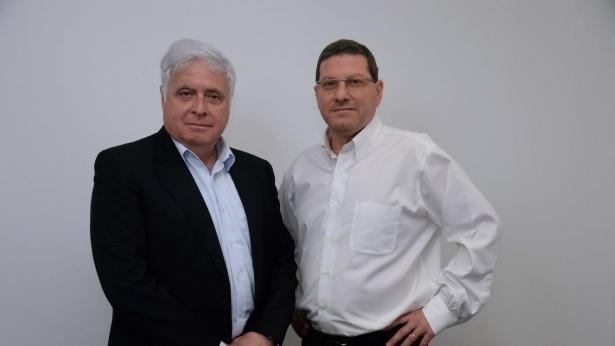 גיל גירון מנכל אשטרום ורמי נוסבאום יור הקבוצה, צילום: ישראל הדרי