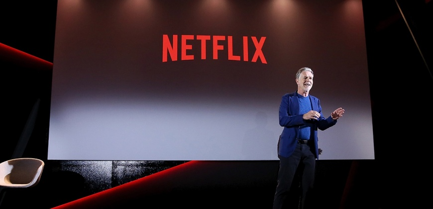 """ריד הסטינגס, מנכ""""ל נטפליקס, צילום: יח""""צ"""