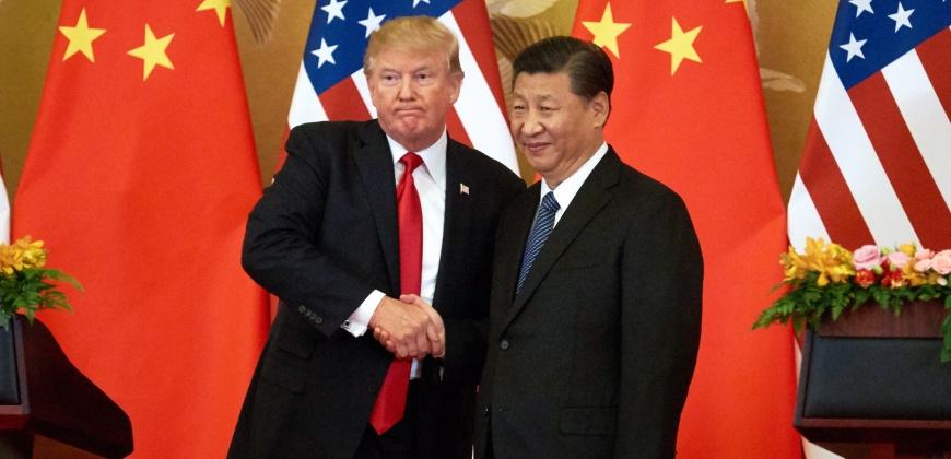 שי ג'ינפינג ודונאלד טראמפ, צילום: גטי אימג'ס