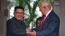 דונאלד טראמפ וקים ג'ונג און, צילום: גטי אימג'ס