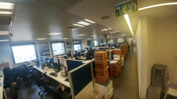 שביתה במשרדי פסגות, צילום: איגוד עובדים