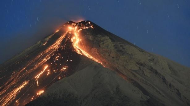 התפרצות הר געש בגואטמלה, צילום: AFP