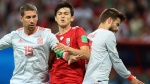 נבחרת ספרד מול איראן, מונדיאל 2018, צילום: גטי אימג'ס