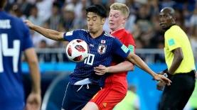 בלגיה נגד יפן, מונדיאל 2018, צילום: גטי אימג'ס