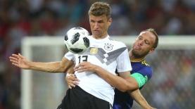 נבחרת גרמניה מול שוודיה, מונדיאל 2018, צילום: גטי אימג'ס