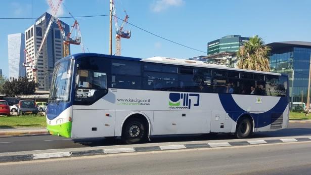 אוטובוס קווים, צילום: מורן ישעיהו
