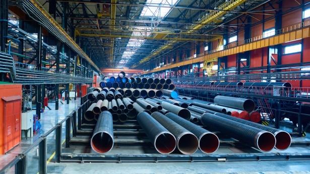 מפעל פלדה (אילוסטרציה), צילום: Istock