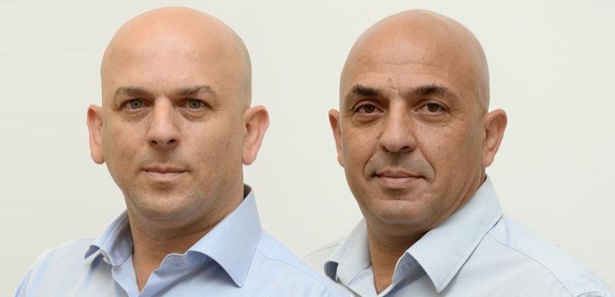 """שלמה אמיר ויוסף אמיר, צילום: יח""""צ"""