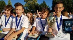 """נערים ישראליים אלופי אירופה בשחמט, צילום: באדיבות התאחדות """"אילת"""""""