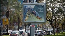 בילבורדים בתל אביב. שלטי חוצות של רפיד ויז'ן, צילום: אתר רפיד
