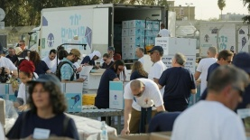 פעילות איסוף מזון של ארגון לתת, צילום: ארגון לתת