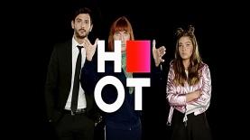 קמפיין HOT עם שלום מיכאלשווילי ונועה קיריל, צילום: מסך