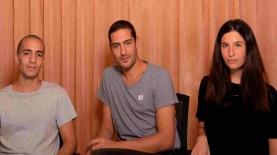 AVIRA. אליענה גולומב, אורי חזיזה ואיתמר פרל, צילום: AVIRA