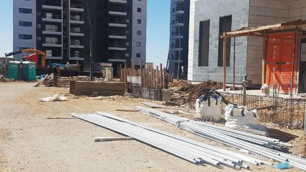 אתר בנייה, צילום: מורן ישעיהו