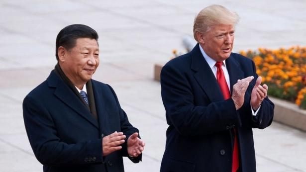 דונאלד טראמפ ושי ג'ינפינג, צילום: גטי אימג'ס