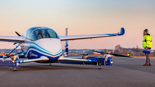 מטוס נוסעים ללא טייס - בואינג, צילום: בואינג